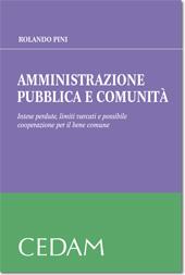 Amministrazione pubblica e comunità