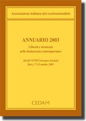 Annuario 2003