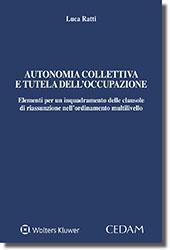 Autonomia collettiva e tutela dell'occupazione