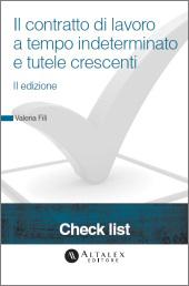 Check List - Il contratto di lavoro a tempo indeterminato e tutele crescenti
