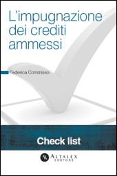 Check List - L'impugnazione dei crediti ammessi