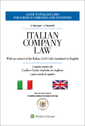 Codice civile italiano tradotto in inglese - Italian Civil Code translated in English