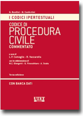 Codice ipertestuale di procedura civile commentato