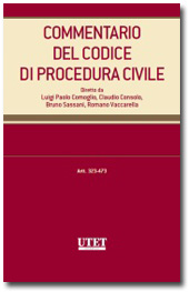 Commentario del Codice di Procedura Civile - Vol. IV: Artt. 323-394 c.p.c.