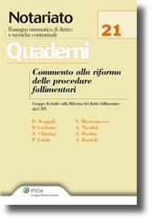 Commento alla riforma delle procedure fallimentari