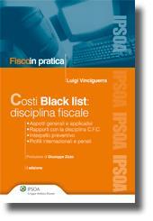 Costi Black list: disciplina fiscale