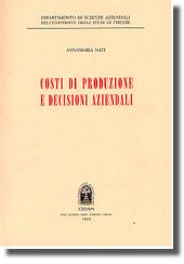 Costi di produzione e decisioni aziendali