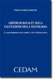 Criteri di royalty nella valutazione della tecnologia
