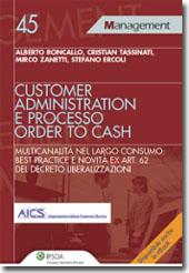 Customer administration e processo order to cash