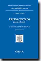 Diritto Canonico (nozioni e riflessioni) - Vol. I: Diritto Costituzionale