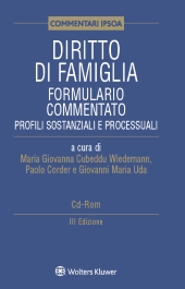 Diritto di famiglia - Formulario commentato