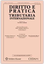 Diritto e pratica tributaria internazionale