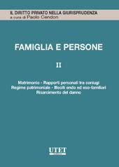 Famiglia e persone. Vol. II