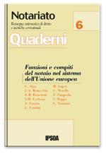 Funzioni e compiti del notaio nel sistema dell'Unione europea