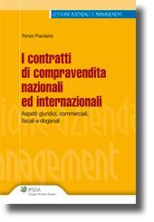I contratti di compravendita nazionali ed internazionali