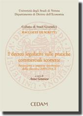 I decreti legislativi sulle pratiche commerciali scorrette