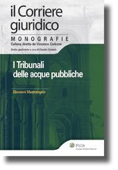 I tribunali delle acque pubbliche