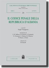 Il Codice penale della Repubblica d'Albania