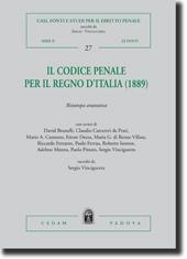 Il Codice penale per il Regno d'Italia (1889)