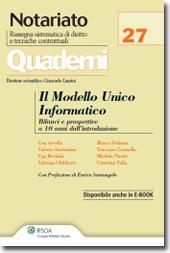 Il Modello Unico Informatico