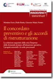 Il concordato preventivo e gli accordi di ristrutturazione