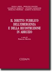 Il diritto pubblico dell'emergenza e della ricostruzione in Abruzzo