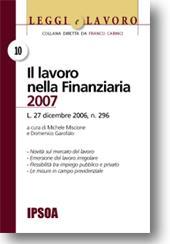 Il lavoro nella Finanziaria 2007