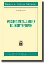 Introduzione allo studio del diritto privato