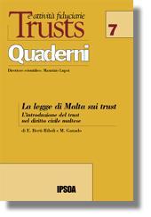 La legge di Malta sui trust