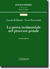 La prova testimoniale nel processo penale