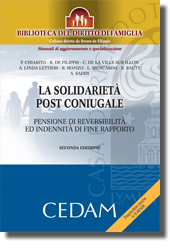 La solidarieta' post-coniugale