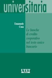 Le banche di credito cooperativo nel testo unico bancario