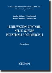 Le rilevazioni contabili nelle aziende industriali e commerciali