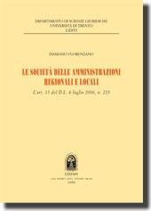 Le società delle amministrazioni regionali e locali