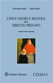 Linguaggio e regole del diritto privato