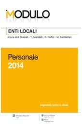 Modulo Enti locali 2014 - Personale