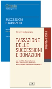 Offerta 2 Volumi: Successioni e donazioni + Tassazione sulle successioni
