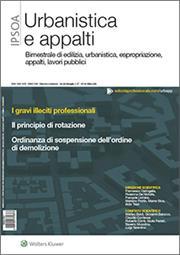 Urbanistica e appalti