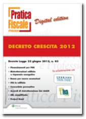 eBook - Decreto crescita 2012