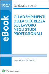 eBook - Gli adempimenti della sicurezza sul lavoro negli studi professionali