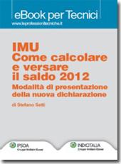 eBook - IMU Come calcolare e versare il saldo 2012