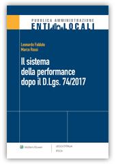 eBook - Il sistema della performance dopo il D.Lgs. 74/2017