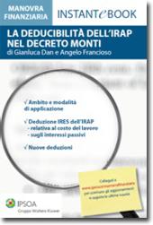 eBook - La deducibilità dell'Irap nel Decreto Monti