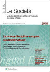 eBook - La nuova disciplina europea sul market abuse