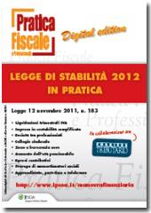 eBook - Legge di stabilità 2012 in pratica