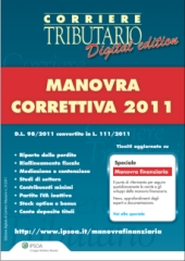 eBook - Manovra correttiva 2011