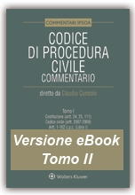 eBook Tomo II - Codice di Procedura Civile Commentato